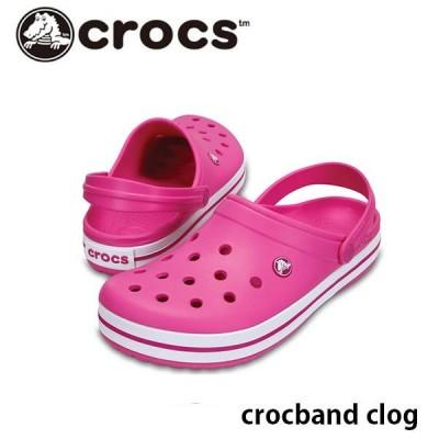 クロックス サンダル メンズ クロックバンド crocband clog 11016 Party Pink crocs CR110166U9 国内正規品
