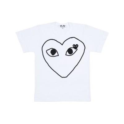 プレイコムデギャルソン メンズ ブラックハートTシャツ PLAY COMME DES GARCONS AZ-T102-051-1