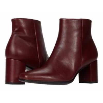 ECCO エコー レディース 女性用 シューズ 靴 ブーツ アンクル ショートブーツ Shape 60 Squared Ankle Bootie Syrah【送料無料】