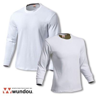 Tシャツ スクール 長袖 ホワイト ウンドウ p250-00  取寄