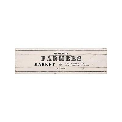 ベストコ キッチンマット 60×220cm ファーマーズマーケット ホワイト さらっと拭ける ぷにぷに触感 ND-9904