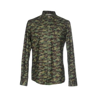 ゴールデン グース GOLDEN GOOSE DELUXE BRAND シャツ ミリタリーグリーン L コットン 100% シャツ