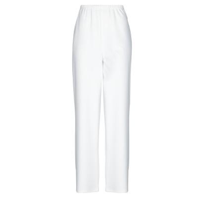 NO SECRETS パンツ ホワイト 42 ポリエステル 95% / ポリウレタン 5% パンツ