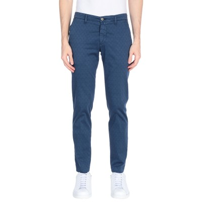 PIIZONE パンツ ブルー 30 コットン 98% / ポリウレタン 2% パンツ