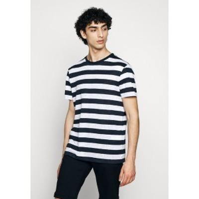 ジェイ リンドバーグ メンズ Tシャツ トップス COMA CLEAN - Print T-shirt - navy navy