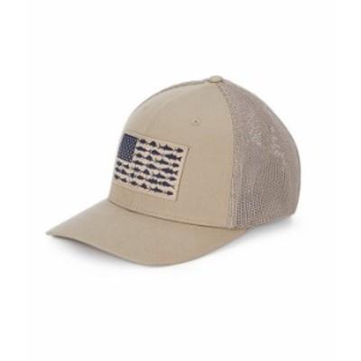コロンビア メンズ 帽子 アクセサリー PFG Flag Mesh Cap Tusk