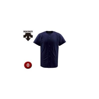 DESCENTE/デサント  DB1010-NVY フルオープンシャツ 【O】 (ネイビー)