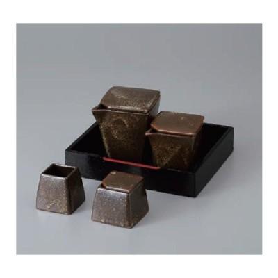 カスターセット 調味料入れ 唐津霜降り 陶器 陶磁器 美濃焼 日本製