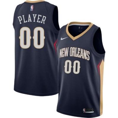 ナイキ Nike メンズ トップス ドライフィット Full Roster New Orleans Pelicans Navy Dri-FIT Swingman Jersey