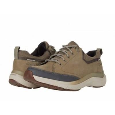Clarks クラークス メンズ 男性用 シューズ 靴 スニーカー 運動靴 Wave 2.0 Vibe Sage Nubuck【送料無料】