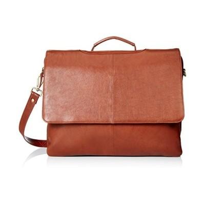 Visconti Leather Business Case Bag/Briefcase/Handbag Large, Brown【並行輸入品】
