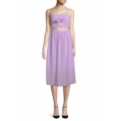 リー&ヴィオラ レディース ワンピース Halter Midi Dress