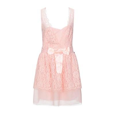 レリッシュ RELISH ミニワンピース&ドレス ピンク 42 コットン 65% / ナイロン 35% / ポリエステル ミニワンピース&ドレス