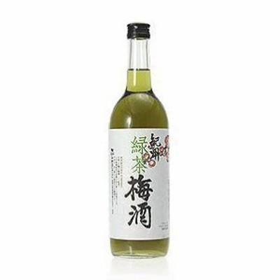 6本セット 中野BC 紀州「緑茶梅酒」 720ml×6本(和歌山県)