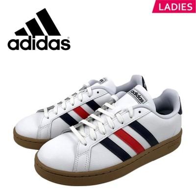 アディダス adidas グランドコート 靴 レディース EE7888