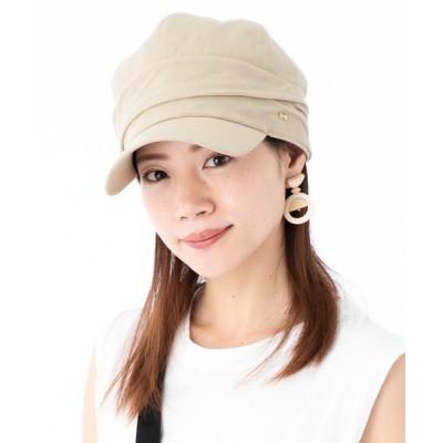 帽子屋ONSPOTZ / ガーブリッシュ くしゅくしゅキャスケット KUSYU レディース GIRBLISH WOMEN 帽子 > キャスケット