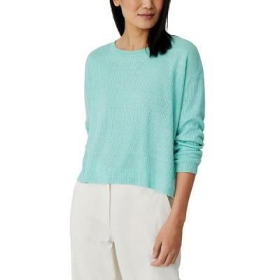 エイリーンフィッシャー レディース ニット・セーター アウター Organic Linen Ribbed Sweater