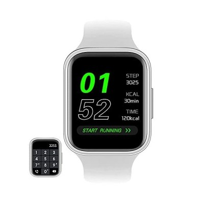 GARINEMAX Smart Watch with Call (Receive/Make Calls) Fitness Tracker with Heart Rate Blood Pressure Monitor for Men Women, Smartwatch with B