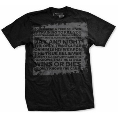 ファッション トップス Ranger Up Vintage True Believer T-Shirt - Small - Black