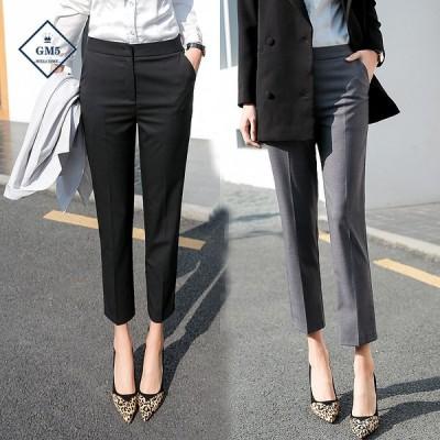 スラックス レディース チノパンツ ビジネスパンツ スーツパンツ 七分丈 九分丈 ボトムス 大きいサイズ