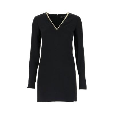 ヴェルサーチ レディース ワンピース トップス Versace Chain Detail V-Neck Dress -