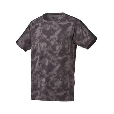 (DESCENTE/デサント)【ZERO STYLE】サンスクリーン Tシャツ/メンズ ブラック系