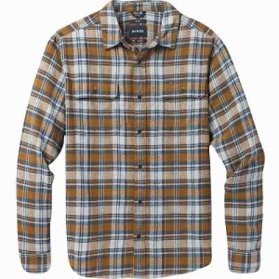 プラーナ Prana メンズ シャツ フランネルシャツ トップス Westbrook Flannel Shirt Walnut