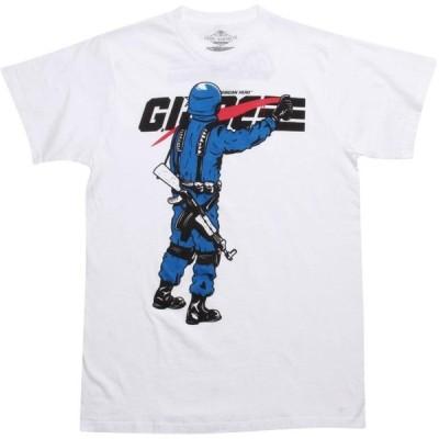 キャラクターグッズ Character Goods メンズ Tシャツ トップス The Loyal Subjects x G I Joe Cobra Commander Tee white