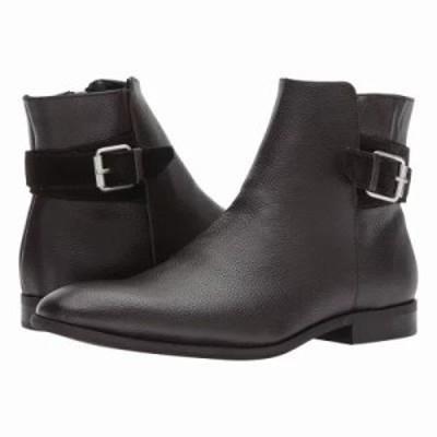 カルバンクライン ブーツ Lorenzo Dark Brown Tumbled Leather