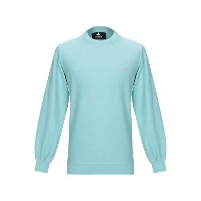 MACCHIA J スウェットシャツ ライトグリーン XL コットン 100% スウェットシャツ