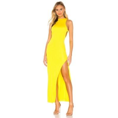 エヌビーディー NBD レディース パーティードレス ワンピース・ドレス Late Night Gown Canary Yellow