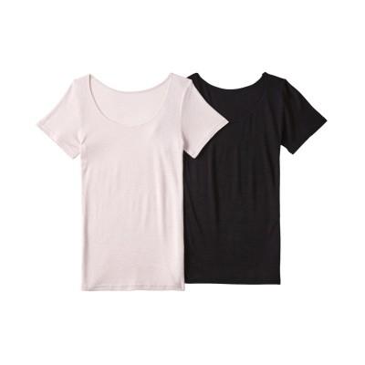発熱ストレッチ3分袖インナー2枚組 (フレンチ袖・半袖・五分袖インナー)Underwear