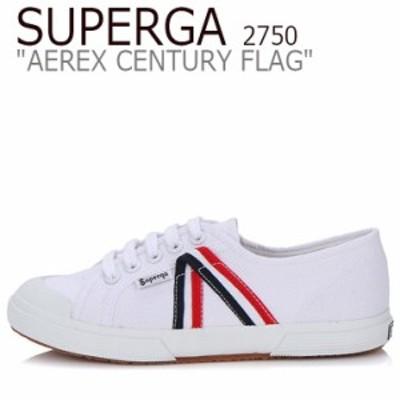 スペルガ スニーカー SUPERGA 2750 AEREX CENTURY FLAG 2750 アレックス センチュリー フラッグ WHITE ホワイト S00A6M0 シューズ