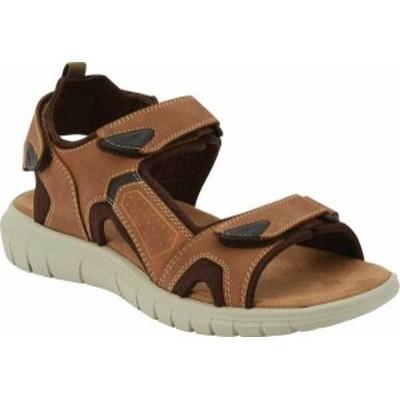 ドッカーズ メンズ サンダル シューズ Men's Dockers Spencer Active Sandal Tan Distressed Synthetic Leather