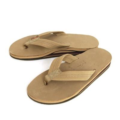 Rainbow Sandals レインボーサンダル|Double Layer Sandal (シエラブラウン)(サンダル)
