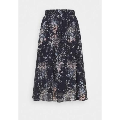 サントロペ スカート レディース ボトムス FLORENCE SKIRT - A-line skirt - blue deep