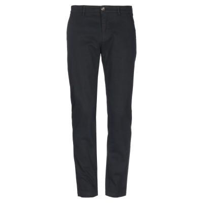 ラブ モスキーノ LOVE MOSCHINO パンツ ブラック 46 コットン 97% / ポリウレタン 3% パンツ