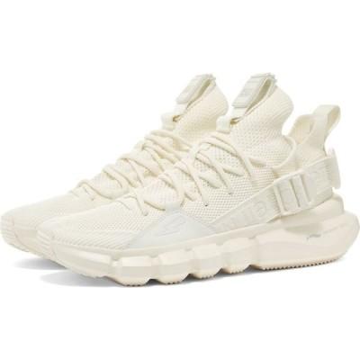 ニール バレット Neil Barrett メンズ スニーカー シューズ・靴 x Li-Ning Buckle Strap Mesh Sneaker White