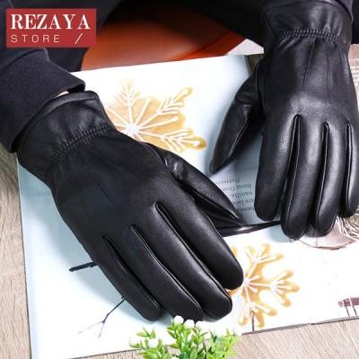 本革手袋 メンズ グローブ レザーグローブ レザー手袋  glove  厚手 バイク手袋 バイクグローブ レーシンググローブ