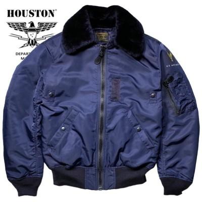 HOUSTON / ヒューストン 5002 B-15C FLIGHT JACKET/B-15Cフライトジャケット-ネイビー-
