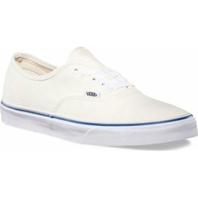 バンズ レディース スニーカー シューズ Vans Authentic Sneaker Off White