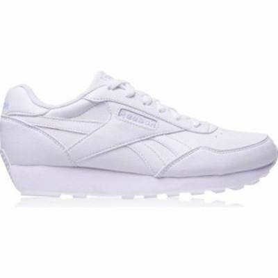 リーボック Reebok レディース スニーカー シューズ・靴 Rewind Trainers White/Purple