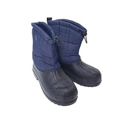 軽量防寒ブーツ SP-1152 デニム Lサイズ ファインジャパン フィッシングブーツ 釣り アウトドア用品
