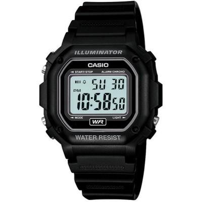 カシオ 腕時計 アクセサリー レディース Men's Digital Black Resin Strap Watch 42.4mm Black