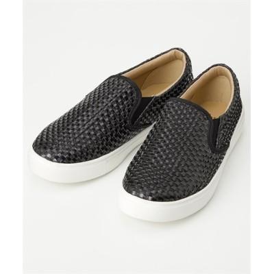 【ゆったり幅】メッシュスリッポンスニーカー(低反発中敷)(ワイズ4E) スニーカー・スリッポン, Sneakers