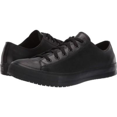 シューズフォークルーズ Shoes for Crews メンズ 革靴・ビジネスシューズ シューズ・靴 Delray Black Leather