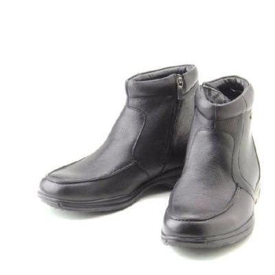 定価24,200円 madras Walk SPMW5476 マドラスウォーク 本革 防水 防滑 ビジネスシューズ ブーツ ゴアテックス 牛革 幅広4E 紳士靴 メンズ 靴 ブラック