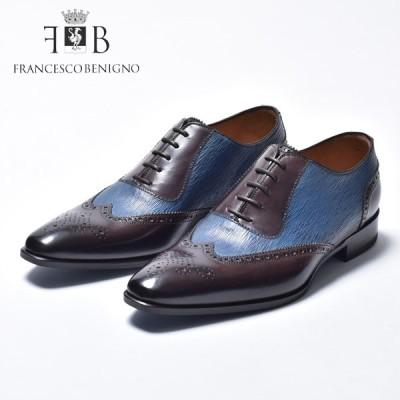 フランチェスコベニーニョ 革靴 メンズ 本革 ビジネス カジュアル FRANCESCO BENIGNO