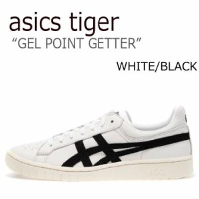 アシックス スニーカー asics アシックスタイガー ゲル ポイントゲッター ASICS TIGER GEL-PTG ホワイト ブラック HL7X0-0190 シューズ