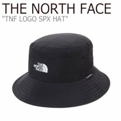 ノースフェイス バケットハット THE NORTH FACE TNF LOGO SPX HAT ロゴ サプレックス ハット BLACK ブラック NE3HL60A ACC